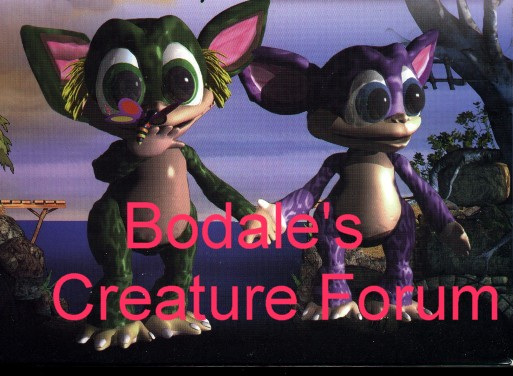 Bodale's Creature Forum! Click and have a read NOW!